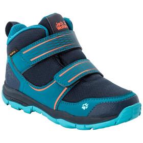 Jack Wolfskin MTN Attack 3 Texapore VC Mid Shoes Kids, dark blue/orange